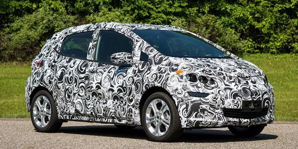 Електромобіль Chevrolet Bolt EV: перше відео