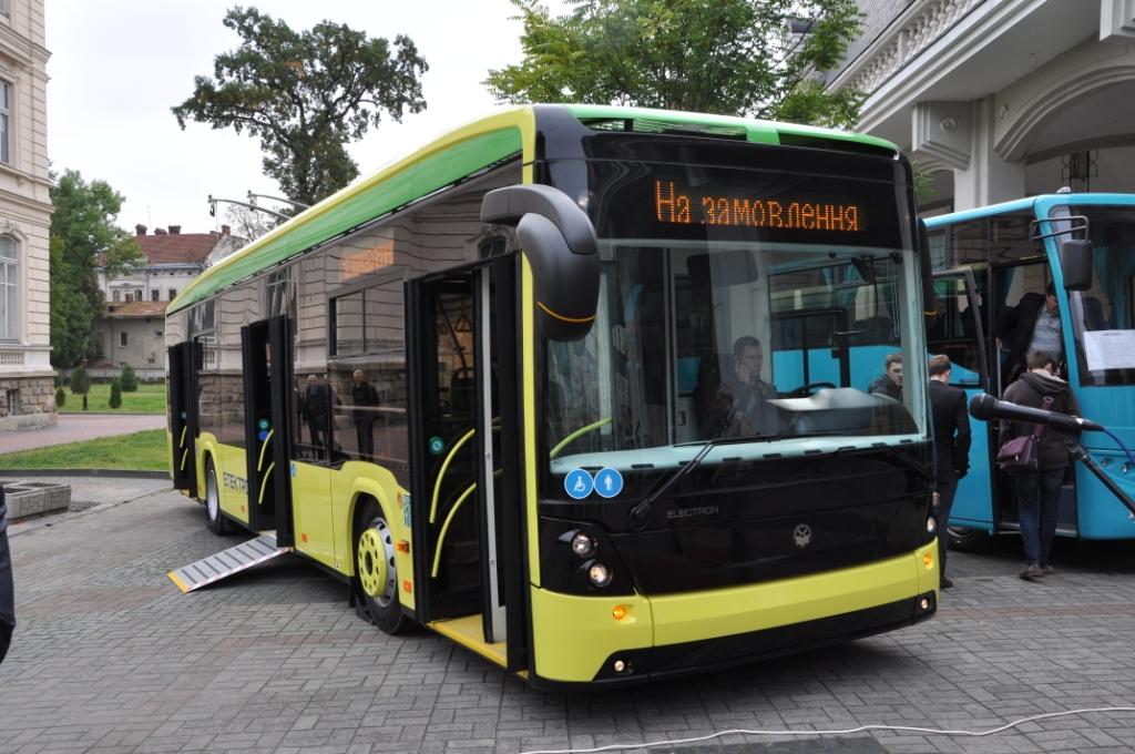У Львові пасажирів возитиме «автобус на батарейках»