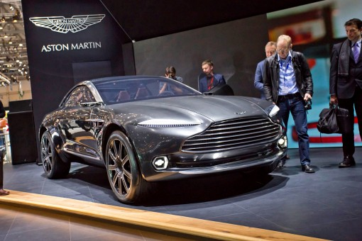 У Женеві презентували концепт електромобіля Aston Martin DBX