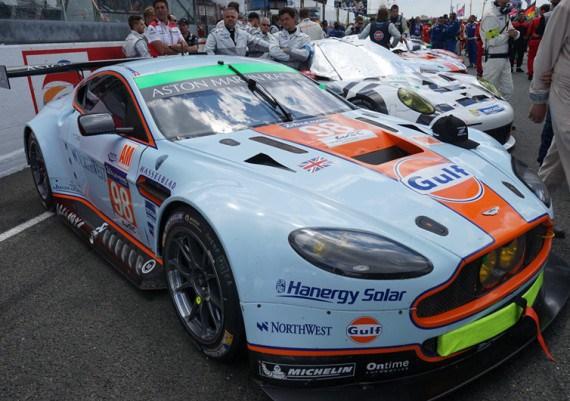Китайська Hanergy вдосконалить гоночний автомобіль Aston Martin Vantage GTE сонячними панелями
