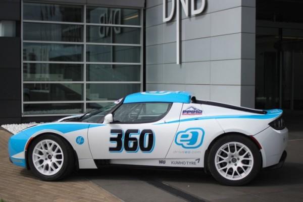 Спортивний електромобіль потужністю 1 мегават представили виробники з Латвії