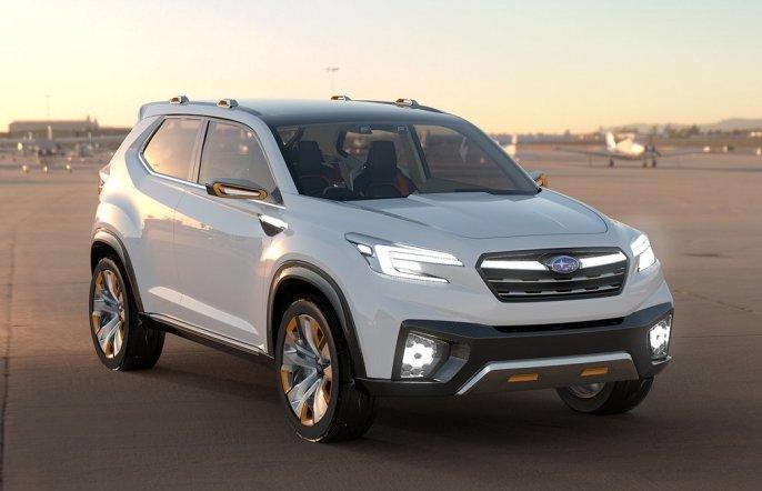 Електричний кросовер Subaru вийде на ринок до 2021 року
