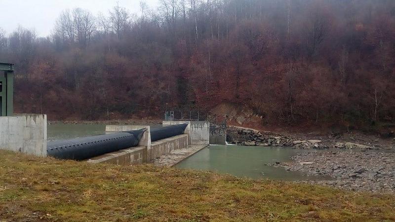 На Закарпатті запрацювала нова міні-ГЕС потужністю 1 МВт