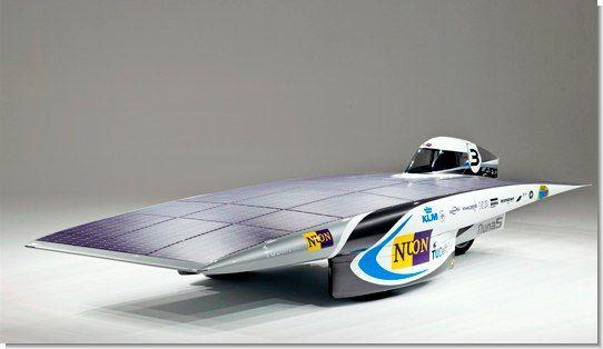 Nuna5: автомобіль на сонячних батареях (ФОТО)