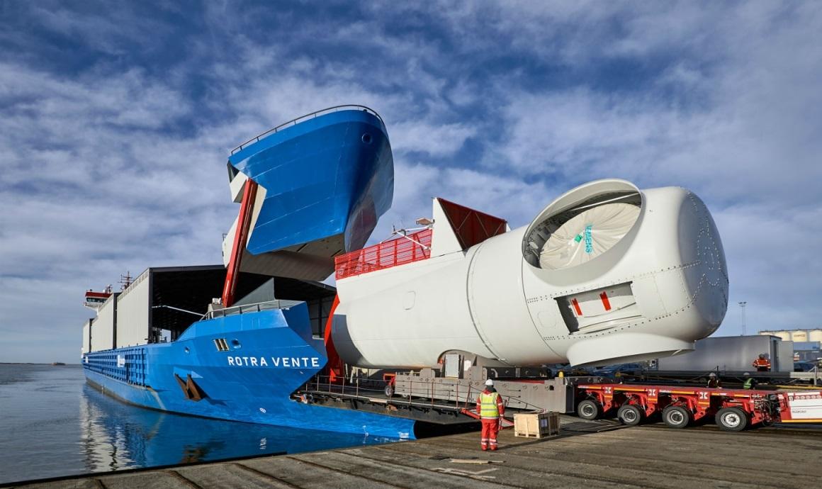 Rotra Vente – корабель для перевезення вітряних турбін