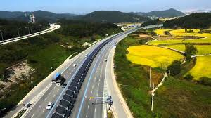 У Південній Кореї велодоріжку покрили сонячними батареями