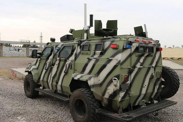 Створено безпілотний армійський броньований автомобіль КрАЗ-Спартан