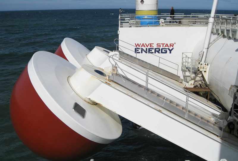 Електростанція, що виробляє електроенергію з хвиль