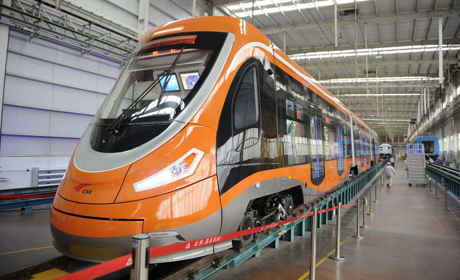В Китаї розроблено перший у світі водневий трамвай